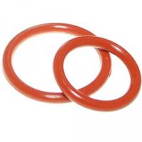 Quality Aging Resistant Silicone Rubber O Rings Seal Gasket Food Grade For Customized Request for sale