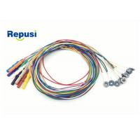 Disposable EEG cup Electrode REPD-1.5PC Plated AgCl with 10 colors