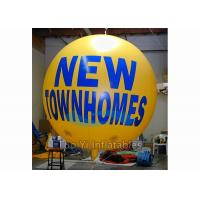Quality Big Helium Sphere Printed Helium Balloons For Exhibition 6 - 8 Grade Wind Resistance for sale