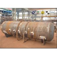 Quality ASME Standard Produce Superheatered And Saturated Steam Boiler Drum 100mm Thickness for sale