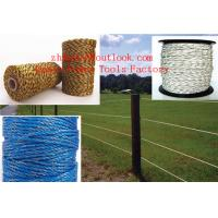 Buy ROLL POLYTAPE ELECTRIC FENCE ENERGISER STAINLESS STEEL POLY TAPE INSULATOR at wholesale prices