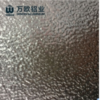 Quality 3003 1050 1070 1100 Embossed Stucco Aluminum Mirror Plate For Decoration for sale