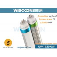 30 Wattage Led Tube T5 Replacement G5 Pins 160 Lm/W With Clear / Milky Cover for sale