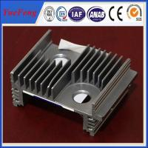 Quality Powder coating aluminium heat sink radiator led housing manufacturer for sale