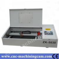 Quality laser stamp machine ZK-5030-40W(400*400mm) for sale