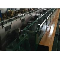 Buy Punching Device U Channel Roll Forming Machine , Galvanized Steel Roll Forming Machine at wholesale prices