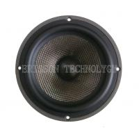 6.5Inch 8Ohm 100w  car mid bass speaker, carbon cone with rubber edge for sale