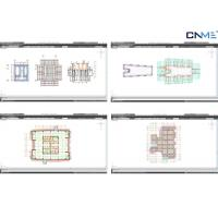 Quality Professional Formwork Design Calculation / Formwork Proposal Drawing for sale
