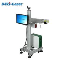 Quality 100,000 Hours Working Flying Laser Marking Machine Customized Engraver for sale