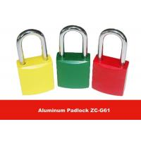 Quality ZC-G61 170g 45mm Body Length Safety Aluminum Padlock Lockouts for sale