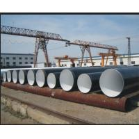 Quality Spiral welded Cold Drawn SSAW Steel Pipe Anti-Corrosion , BS 1387 BS EN10217 JIS G3474 Water / Gas Pipe for sale
