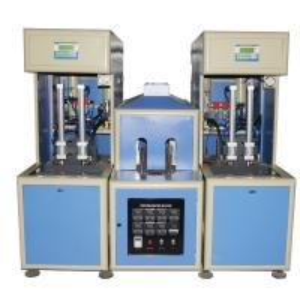 Quality 2 cavity Semi automatic Hot Filling Bottle Blow Molding Machine for PET bottle 50 - 2000ml for sale