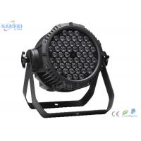 Quality IP65 LED Par Stage Lights For Night Club  RGB 3in Color 3 W X 54 PCS for sale