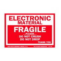 Quality OEM Coated Paper Electrical Warning Labels Anti Oil With Glossy Lamination for sale