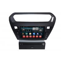 Quality Quad core PEUGEOT Navigation System With 8.0 Inch Touch Screen / Auto Rear Viewing for sale