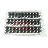 China 60pcs AAA grade 9-9.5mm wine red bread freshwater loose pearl bead on sale