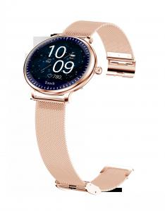 """Quality Ladies Round Screen 1.08"""" Blood Pressure Heart Rate Smart Watch for sale"""