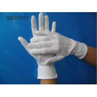 China cotton gloves parade gloves on sale