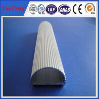 Quality Half round aluminium profiles and hollow extruded aluminum design for led for sale