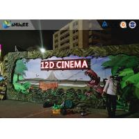 Buy Realistic Multidimensional Dinosaur 12D Movie Theater With Luxurious Seats at wholesale prices