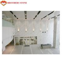 White Marble Stone Tiles Slabs For High End Hotel Villa Projects for sale