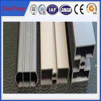 China aluminium special profile for shower door rail/frame support,aluminum frame tent CNC on sale