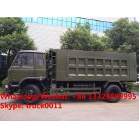 2019s high quality and good price dongfeng 190hp 10tons diesel dump tipper truck customized for Gabon, China made tipper for sale