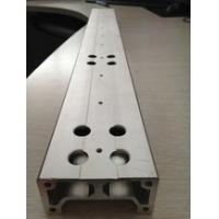 China Aluminium Extrusion Custom Machined Parts With Drilling And Tapping on sale