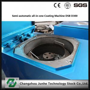 Quality Semi Automatic Metal Coating Line / Zinc Flake Coating Machine Max Capacity 400kg/H for sale