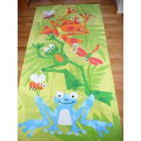 Quality Large Size Custom Printed Beach Towels Comfortable For Youths 320gsm  for sale