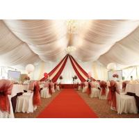 China Portable Wedding Party Tent , Outdoor Heavy Duty Marquee Tent 15 X 20 Meter for sale