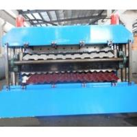 Quality 18 Forming Stations Double Layer Roll Forming Machine PLC For IBR / Corrugated Sheets for sale
