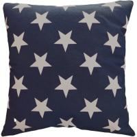 Quality Star Printed PP Cotton 40x40 Pillow Cushion Covers For Home Decor for sale