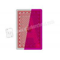 Taiwan Royal Bridge Size 2 Index Plastic Marked Playing Cards For Contact Lenses