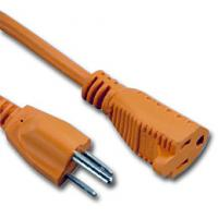 UL certificated 3 Prong US AC Power Cord Cable NEMA 5-15P/IEC320-C19 for sale