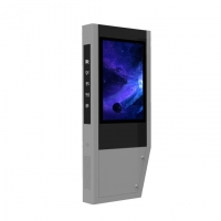 Quality IP65 3600W 4000cd/m2 Floor Standing Digital Signage for sale