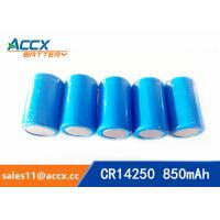 Quality lithium battery cr14250 1/2aa 3.0v 850mAh for sale