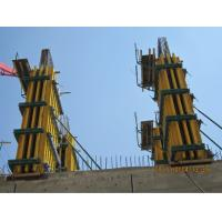 Quality Steel Concrete Column Formwork Square / Rectangle With Timber Beam for sale