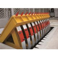 Quality Low noise Electro Hydraulic Road Blocker , car park Heavy duty Rising Kerb for sale