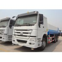 Quality HOWO 336hp Used Water Trucks LHD Driving Type Easy Operation For Road Cleaning for sale