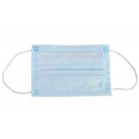 Quality FDA OEM Anti Dust 10pcs/Bag Disposable 3 Ply Earloop Mask for sale