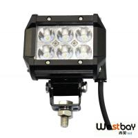 Quality Light Bar LED 18W Spot Motorcycle Work ATV Off-Road Fog Driving for sale