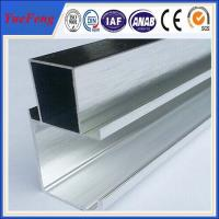 Quality factory supply polishing of 6061 aluminum alloy aluminum t shape extrusion frame for sale