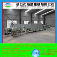 Quality Complete fish feed making machine capacity 800-1000kg/h diameter 2-10mm for sale