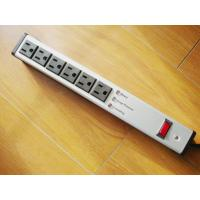 Quality Metal 6 Outlet Surge Protector Power Strip , Mountable Multiple Plug Socket for sale