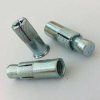 Quality Grade 4.8 Standard Concrete Anchor Bolts , Heavy Duty Galvanized Anchor Bolts for sale