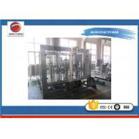 Buy Hot  Pack Juice Filling Machine 4.9kw , Small Scale Juice Bottling Equipment at wholesale prices