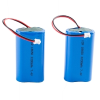 Quality Rechargeable Panasonic 7.4V 2200mAh 18650 Lithium Battery for sale