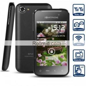 """3.5"""" MTK 6573  Dual SIM/Dual Camera Android Smartphone"""