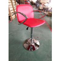 Quality Trendy Plastic Counter Stools , Wine Barrel Bar Stools Half Round Footrest for sale